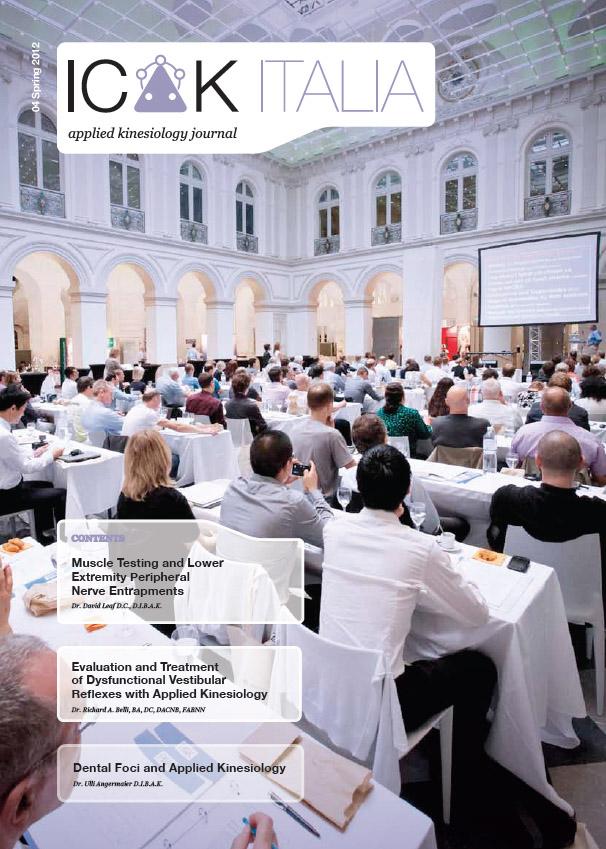 Icak Italy Newsletter Spring 2012